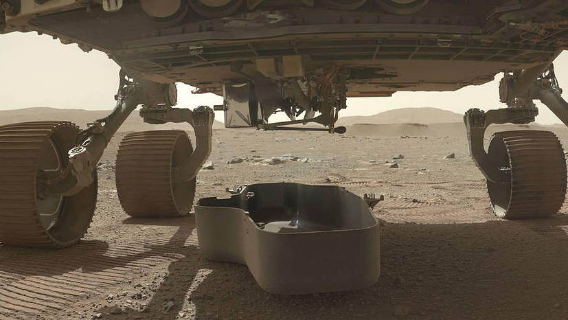 NASA helicopter took a piece of the Wright Brothers' plane to Mars – CNET