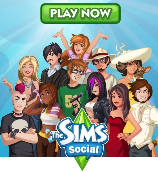 The Sims Social is gaining popularity.