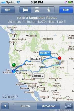 What is the distance to Denver?