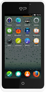 The Geeksphone Peak, a phone for developers using Firefox OS