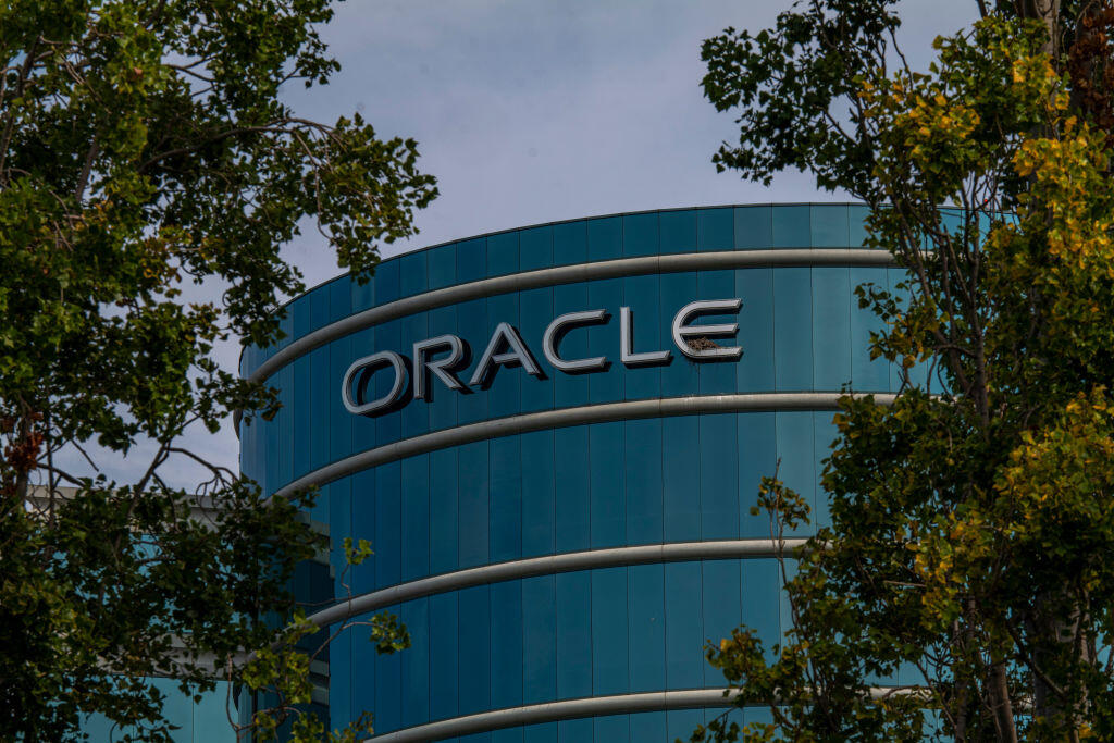 HQ no more. A building on Oracle's Redwood Shores, California, campus.