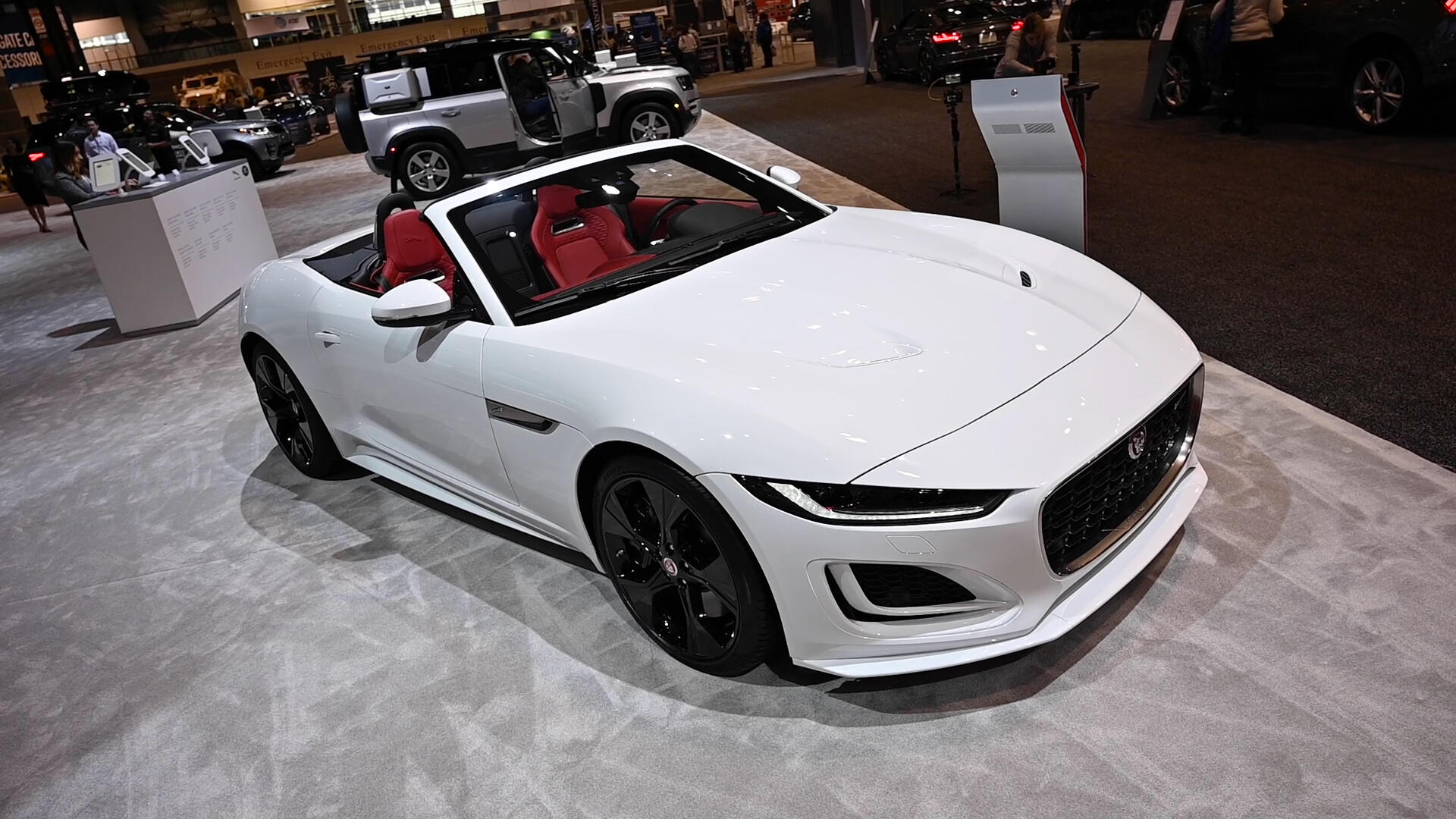 Video: 2021 Jaguar F-Type is restyled and retuned