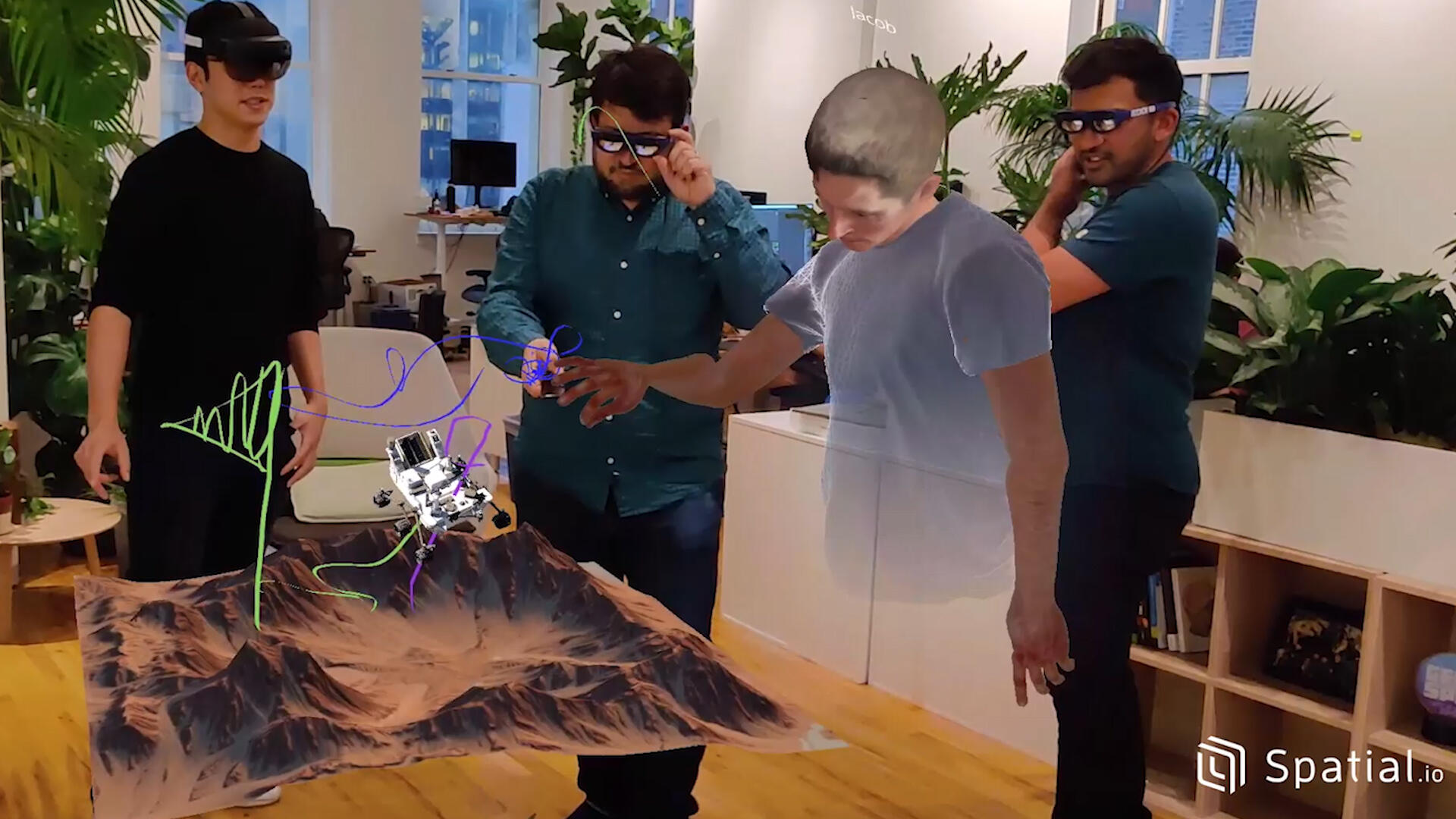 Video: Are you ready to bring your augmented reality office home with you?