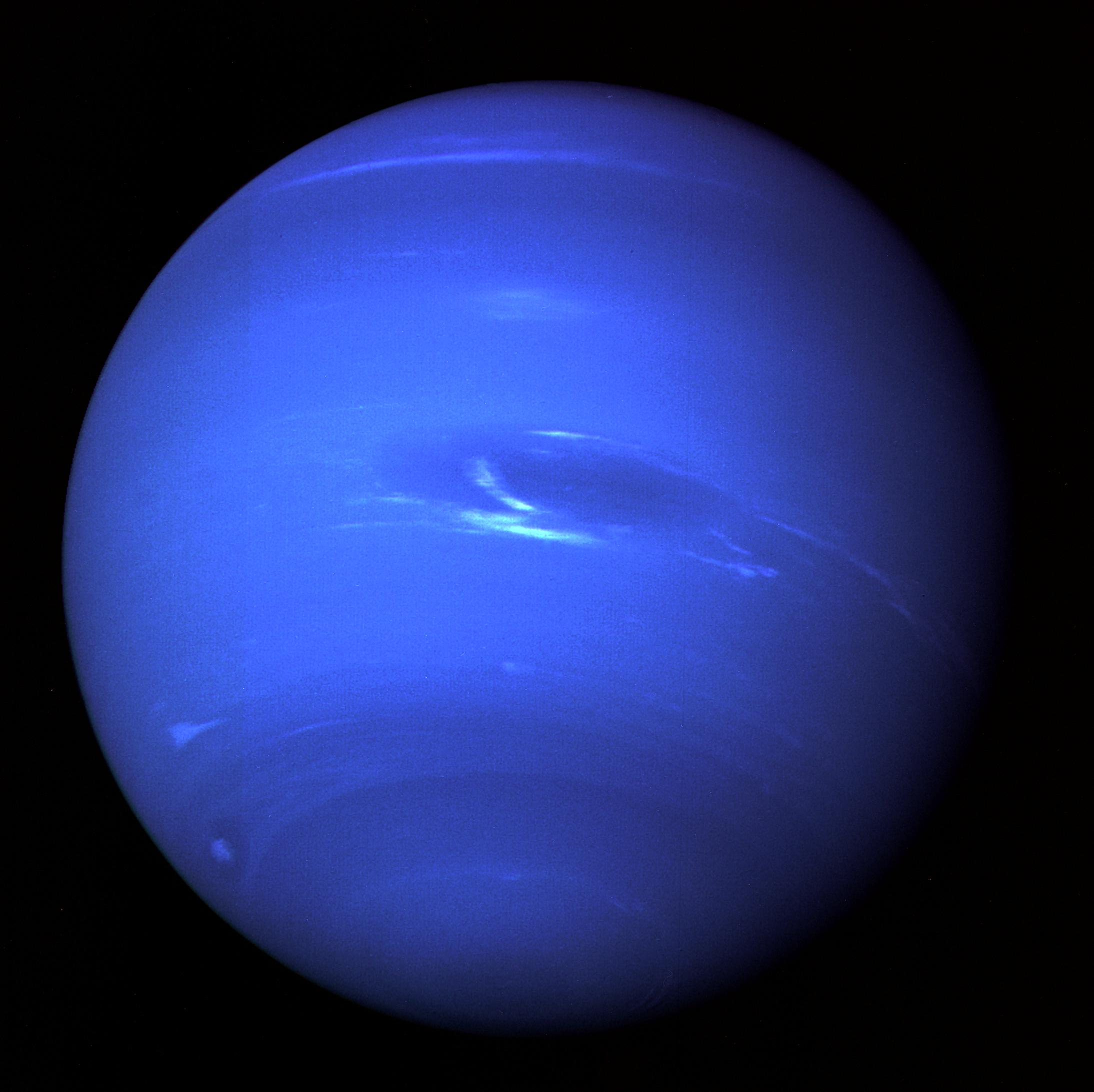 The only Earth visitor to Neptune