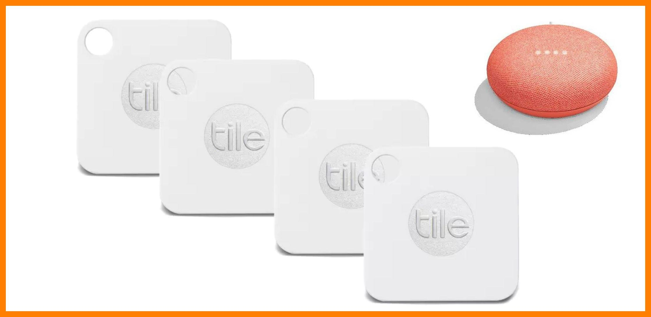 tile-mate-4-pack-with-google-home-mini