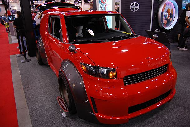 This custom Scion at the 2009 SEMA Show was hard to miss.