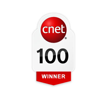 CNET 100 badge