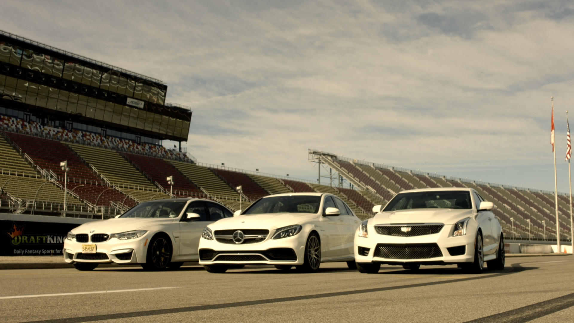 Video: Rivals: M3 vs. C63 AMG vs. ATS-V for luxury sport sedan glory