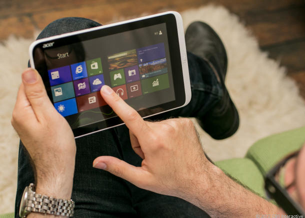 Acer's Windows 8 Iconia W3 tablet.