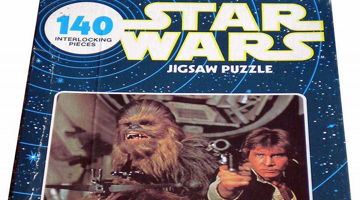1977 Star Wars Han and Chewie 140-piece jigsaw puzzle