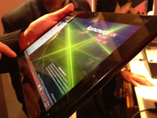 Lenovo is making a name for itself in tablets, too.