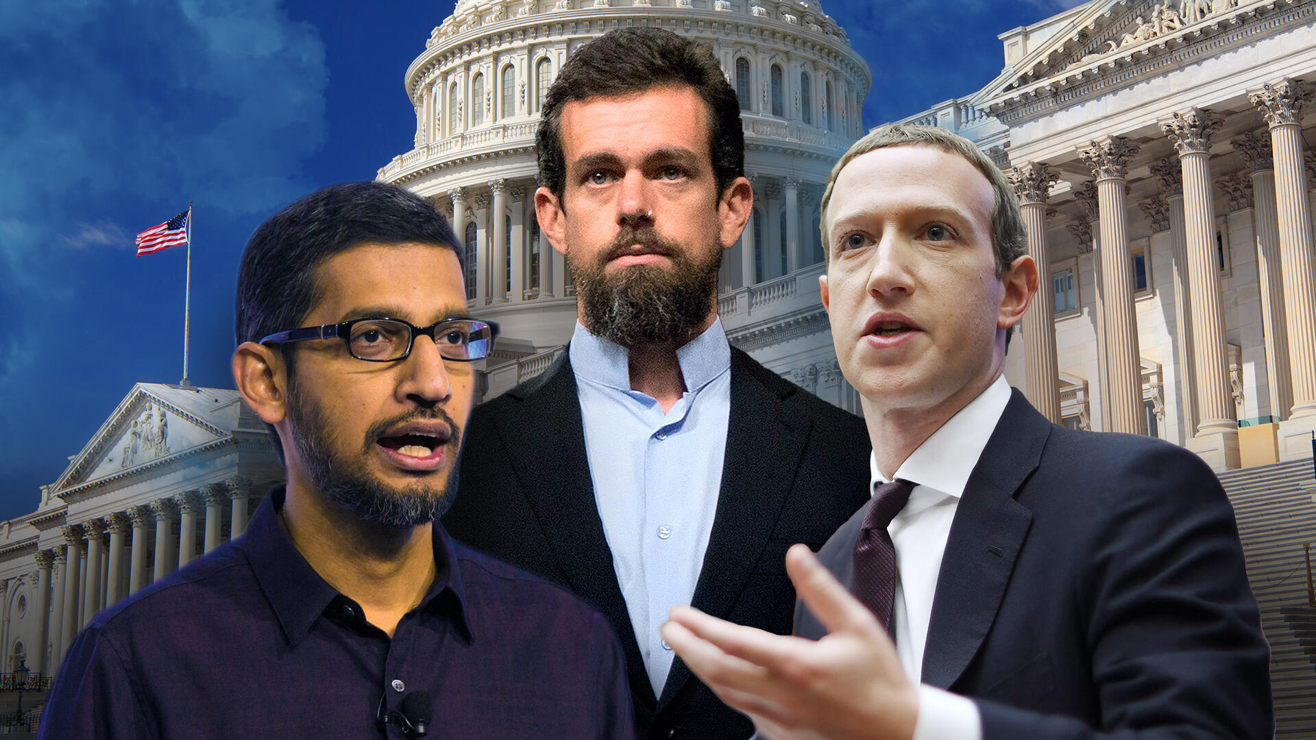 Facebook, Twitter and Google CEOs to testify before Senate -- livestream
