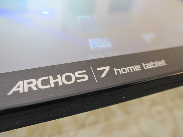 Photo of the Archos 7 Home Tablet.