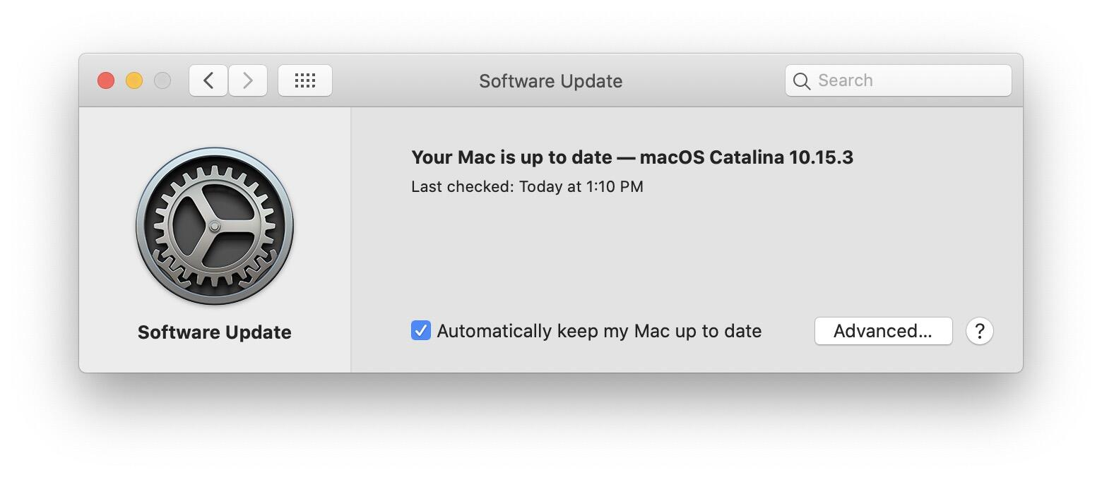 macos-check-for-update