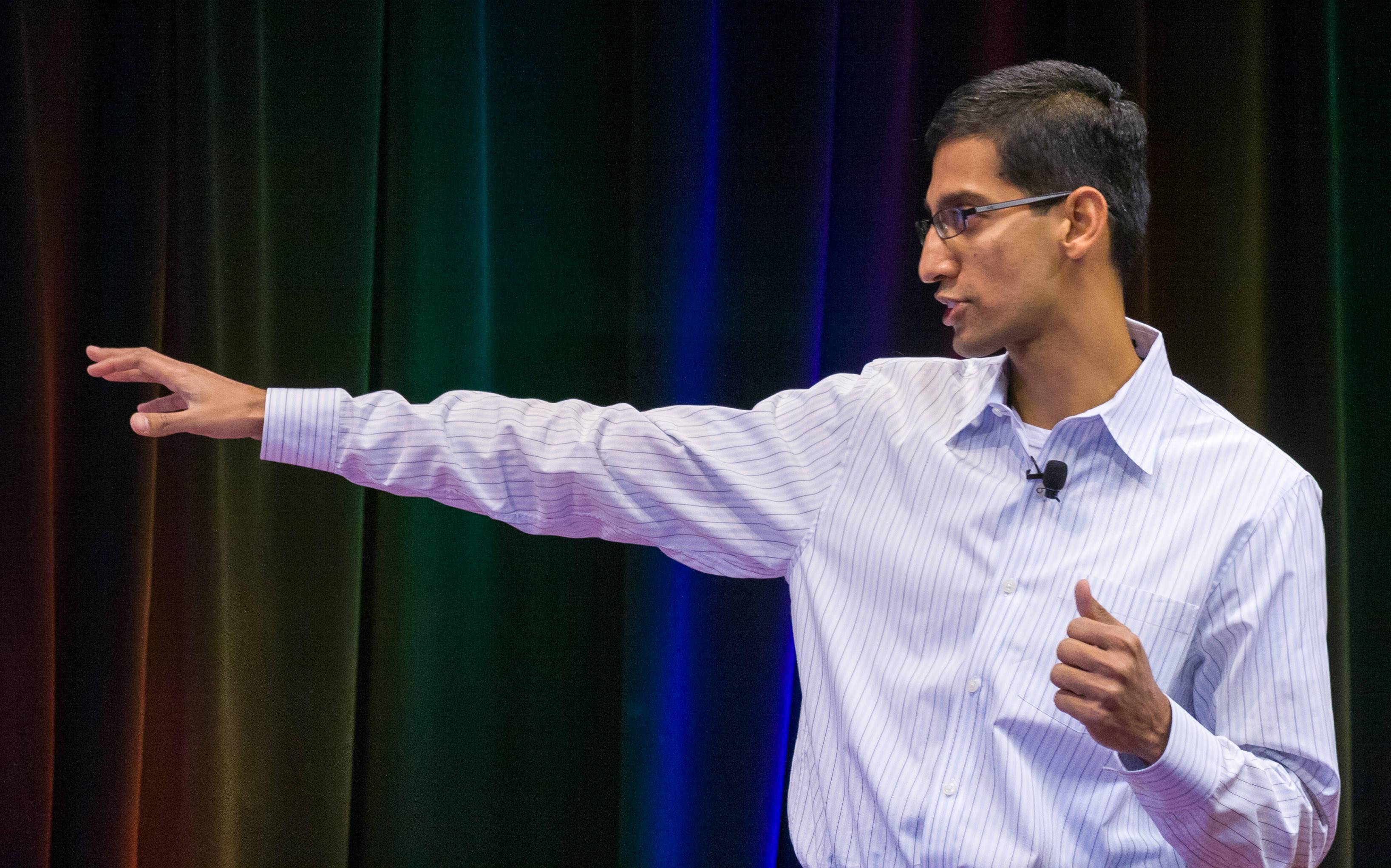 Chrome leader Sundar Pichai, promoted to vice president only three months earlier, debuts Chrome on September 2, 2008. He rose to become Google CEO in 2015.