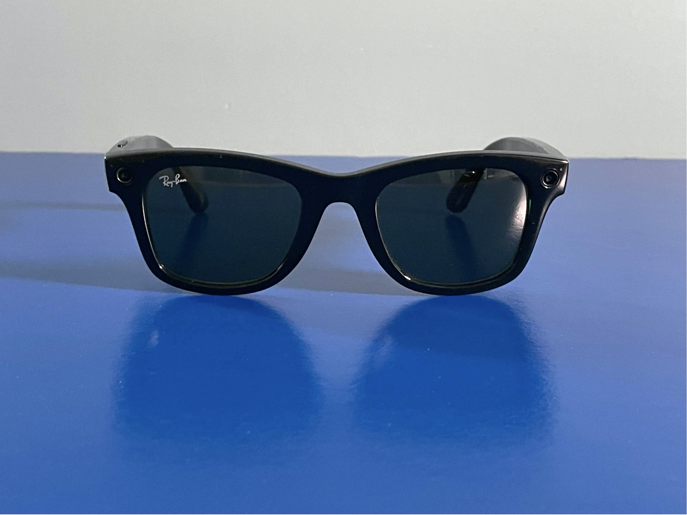 <p>Facebook teamed up with Ray-Ban on its first pair of smart glasses.</p>