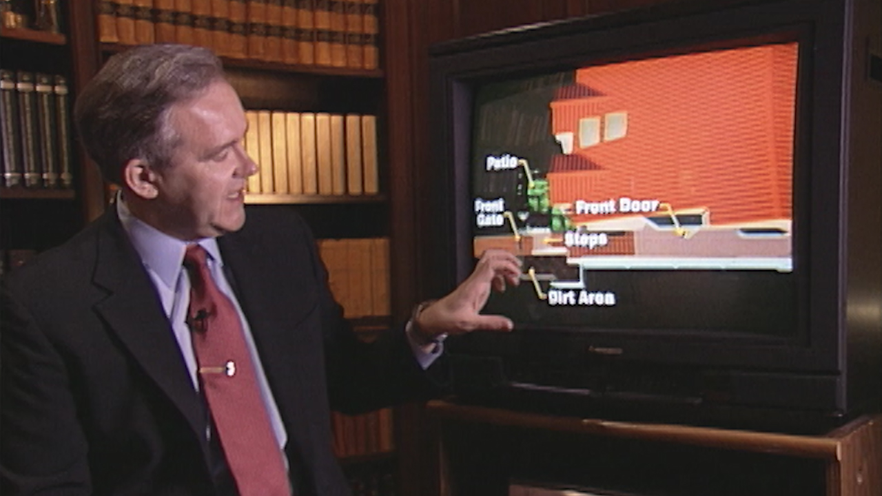 Video: How one company simulated the Simpson-Goldman murders