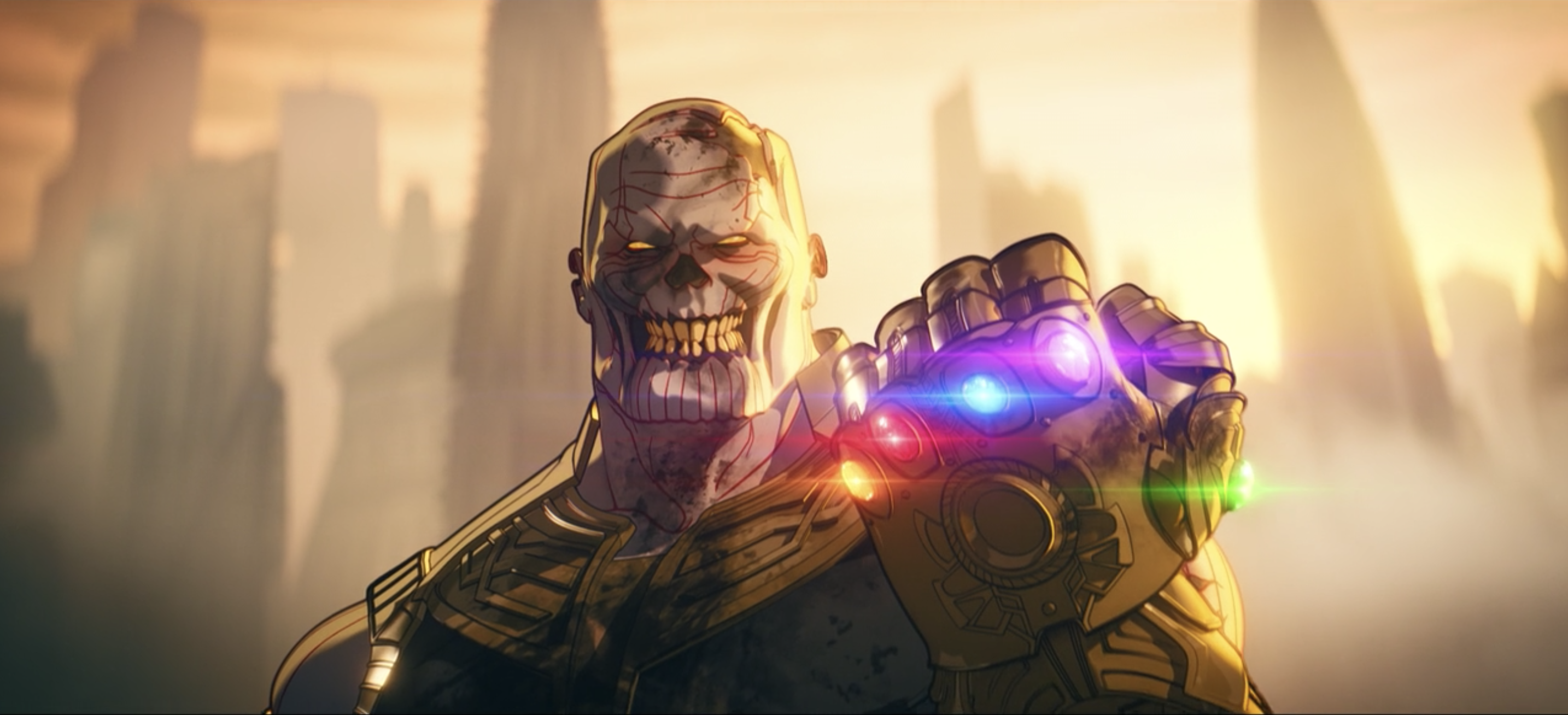 Zombie Thanos in Marvels What if ...?