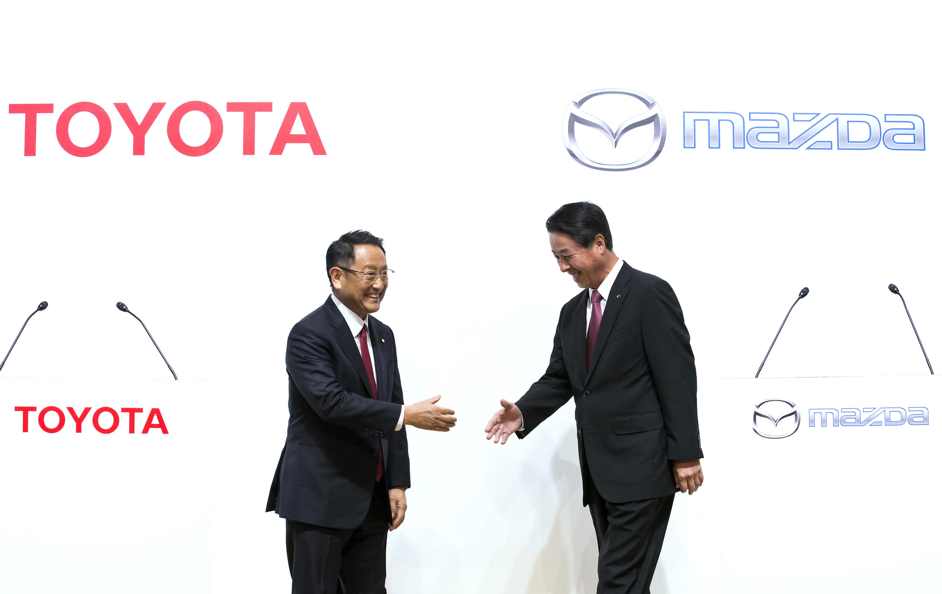 Toyota And Mazda Announce Electric Vehicle Partnership