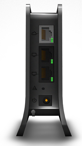 The Almond is good-looking and comes with two LAN ports and one WAN port.