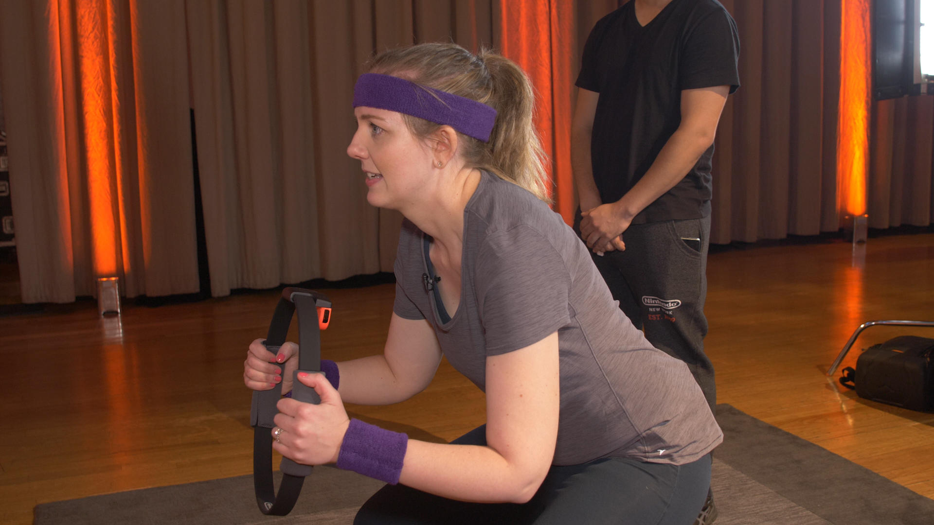 Video: Ring Fit Adventure is a real workout