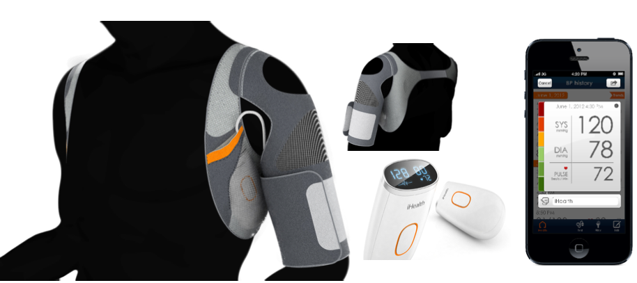 iHealth unveils new wearables for health monitoring