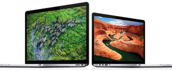 MacBook Pro Retina 13 on the right. It's a highly refined design -- though I didn't believe that at first.
