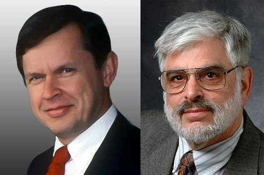 Alfred Aho and Jeffrey Ullman, winners of the 2020 A.M. Turing Award