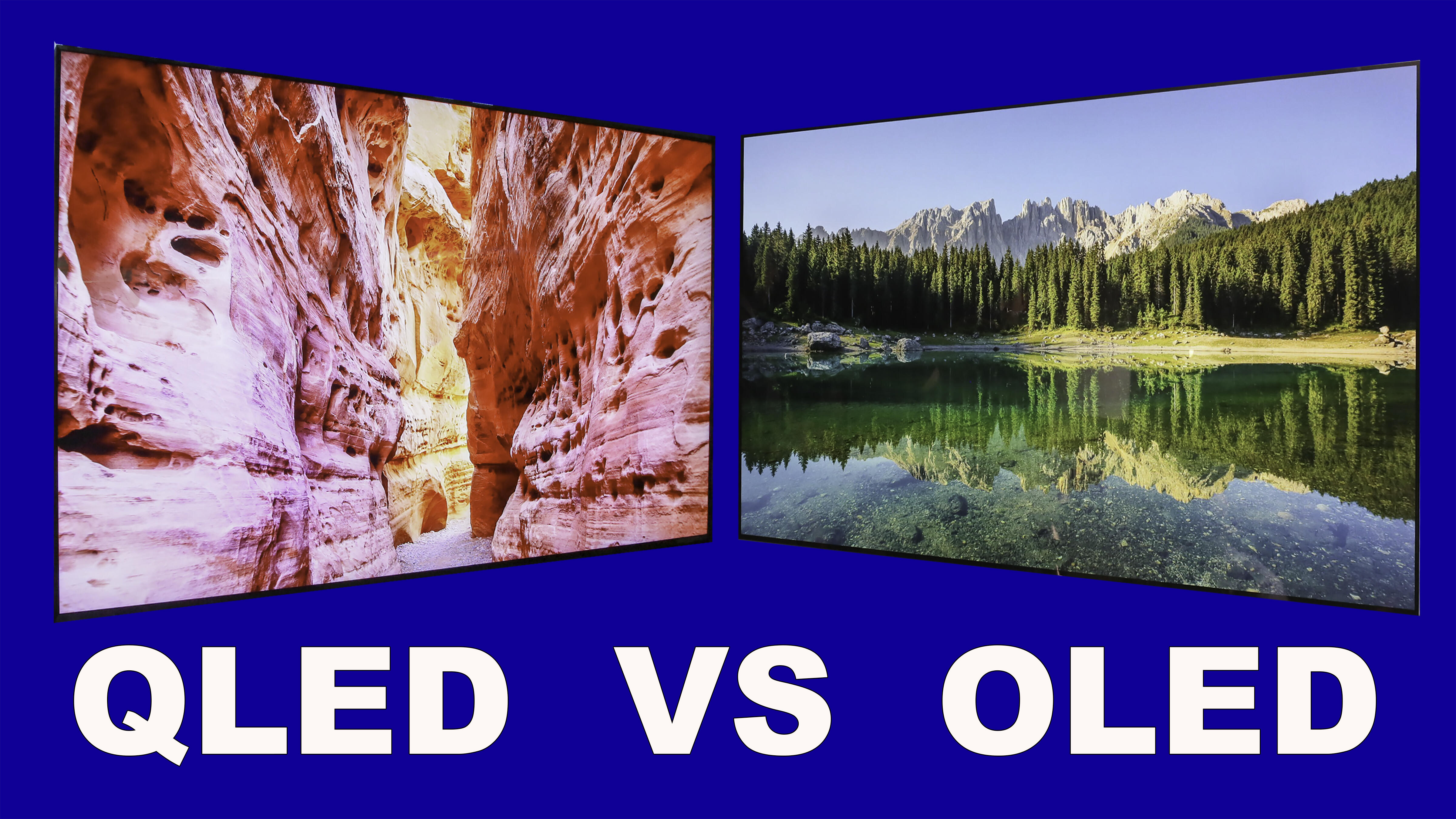 QLED vs. OLED TVs: What's the difference?