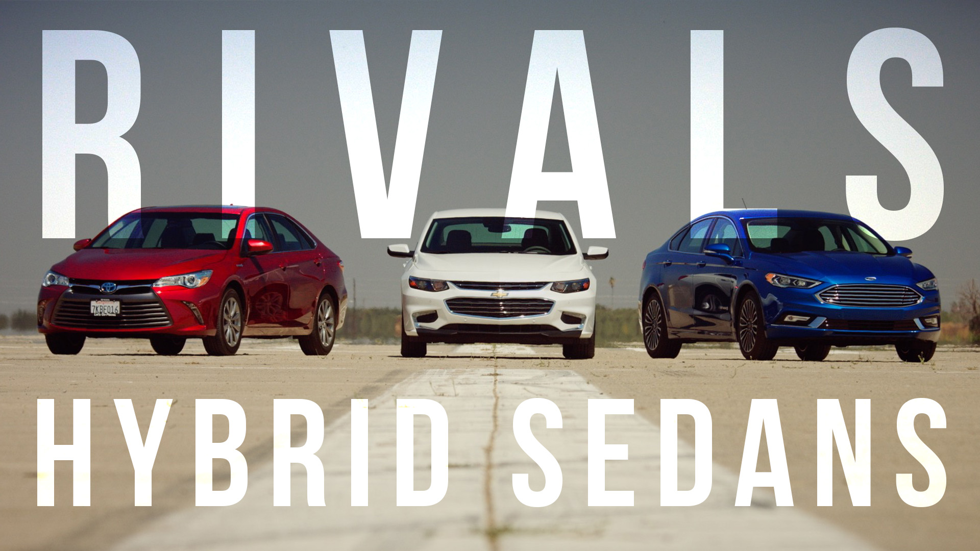 Video: Hybrid Rivals: Ford Fusion vs Chevrolet Malibu vs Toyota Camry