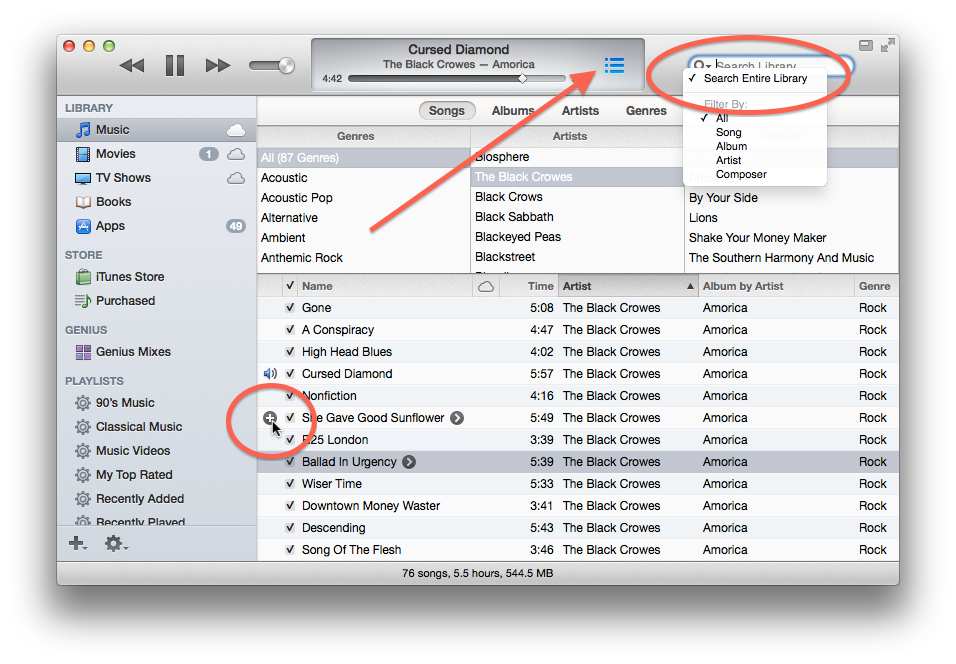 iTunes 11 new features