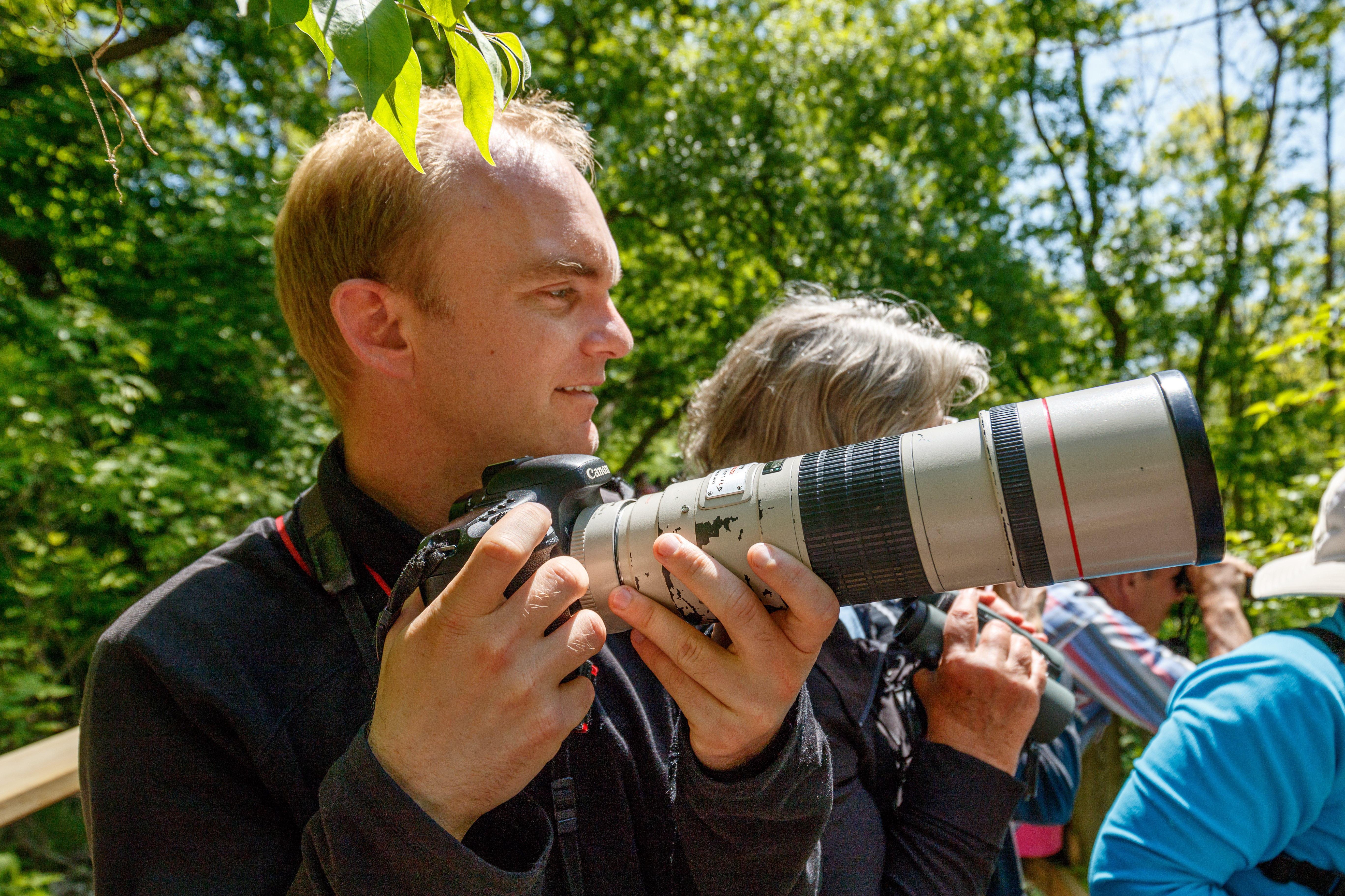 """Noah Strycker, a professional """"bird nerd"""" from Oregon, saw a record 6,042 birds in 365 days of birding around the world in 2015. He's chronicling the trip in a book, """"Birding Without Borders."""""""