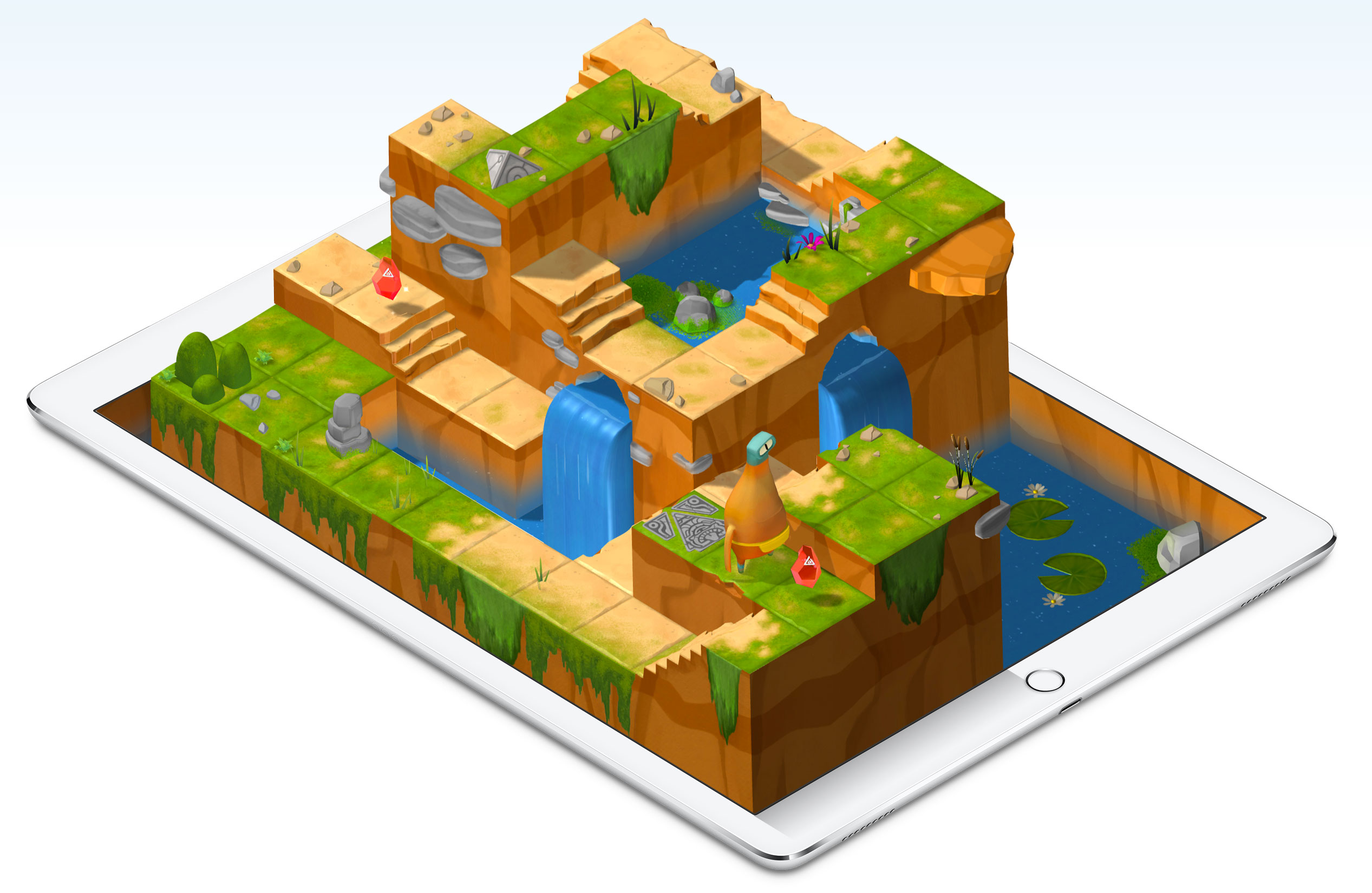 Apple's Swift Playgrounds app teaches the company's programming language.