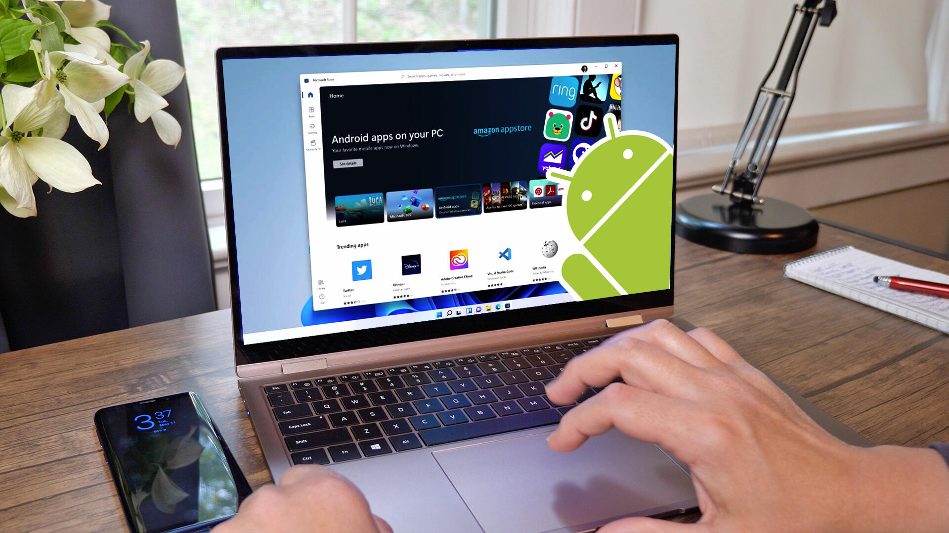Video: Android apps on Windows 11 explained