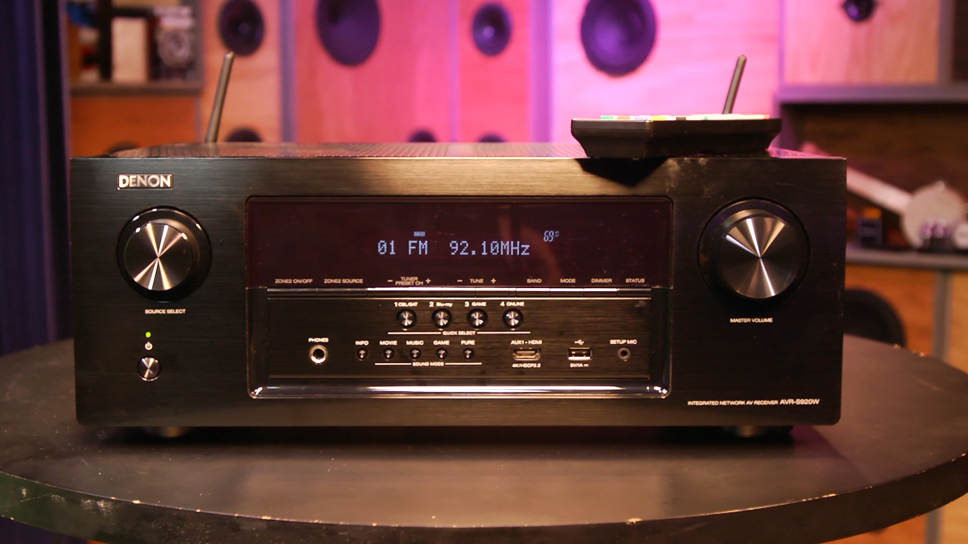 Video: Denon's AVR-S920W offers blockbuster sound and great usability