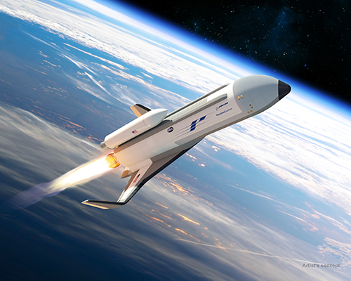 <p>Boeing's Phantom Express heads for spaaace.</p>