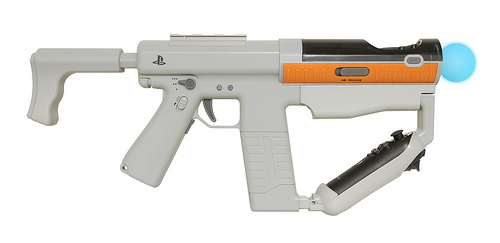 Sony's PlayStation Move Sharp Shooter attachment.