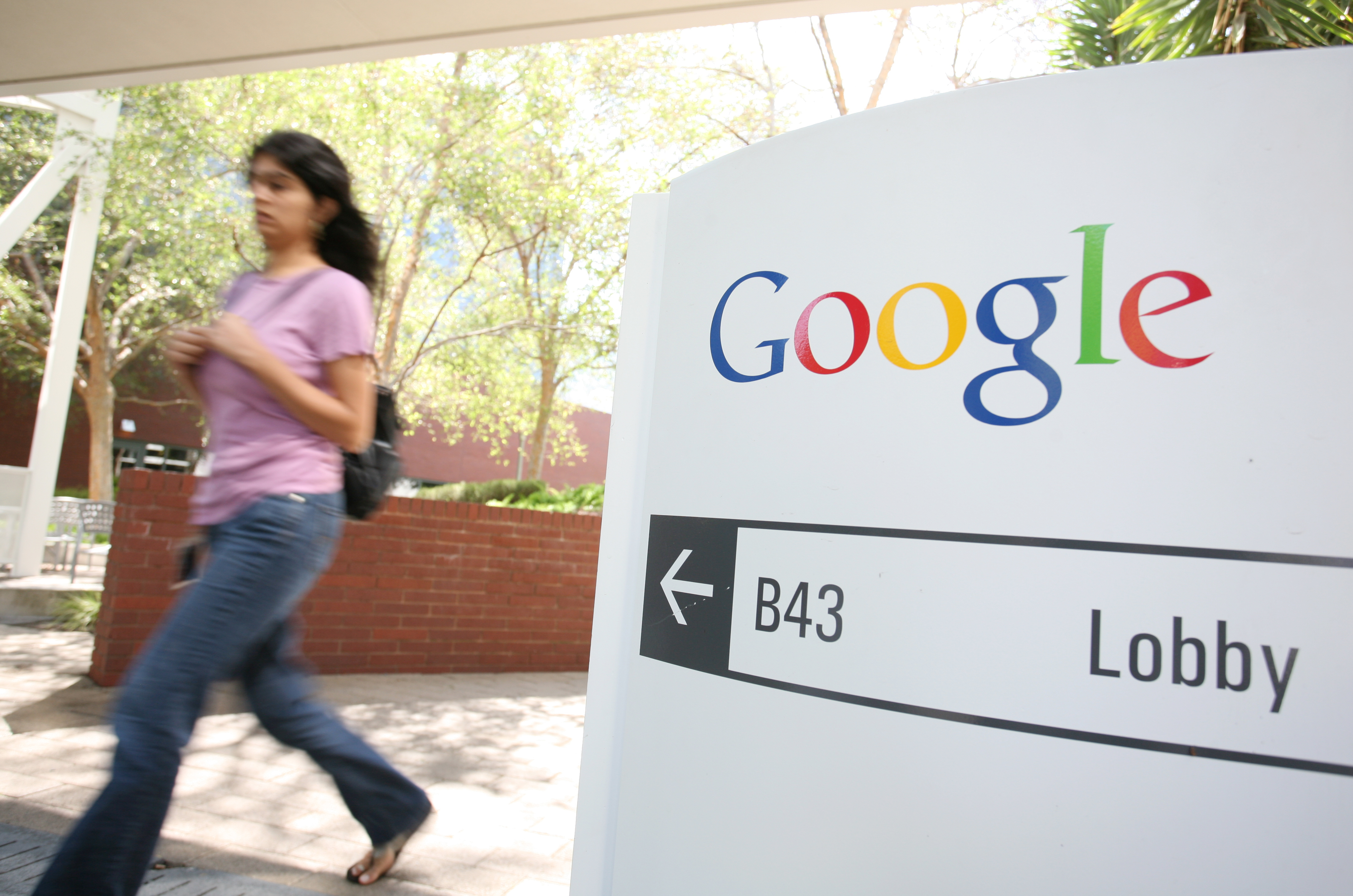 """Google says there's no way female employees are """"systematically"""" paid less than their male counterparts."""