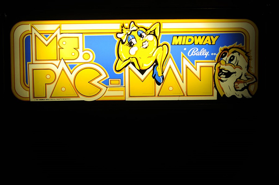 10. ​Ms. Pac-Man