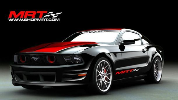 This MRT custom is one of many Mustangs that will flood the show floor at SEMA 2010.