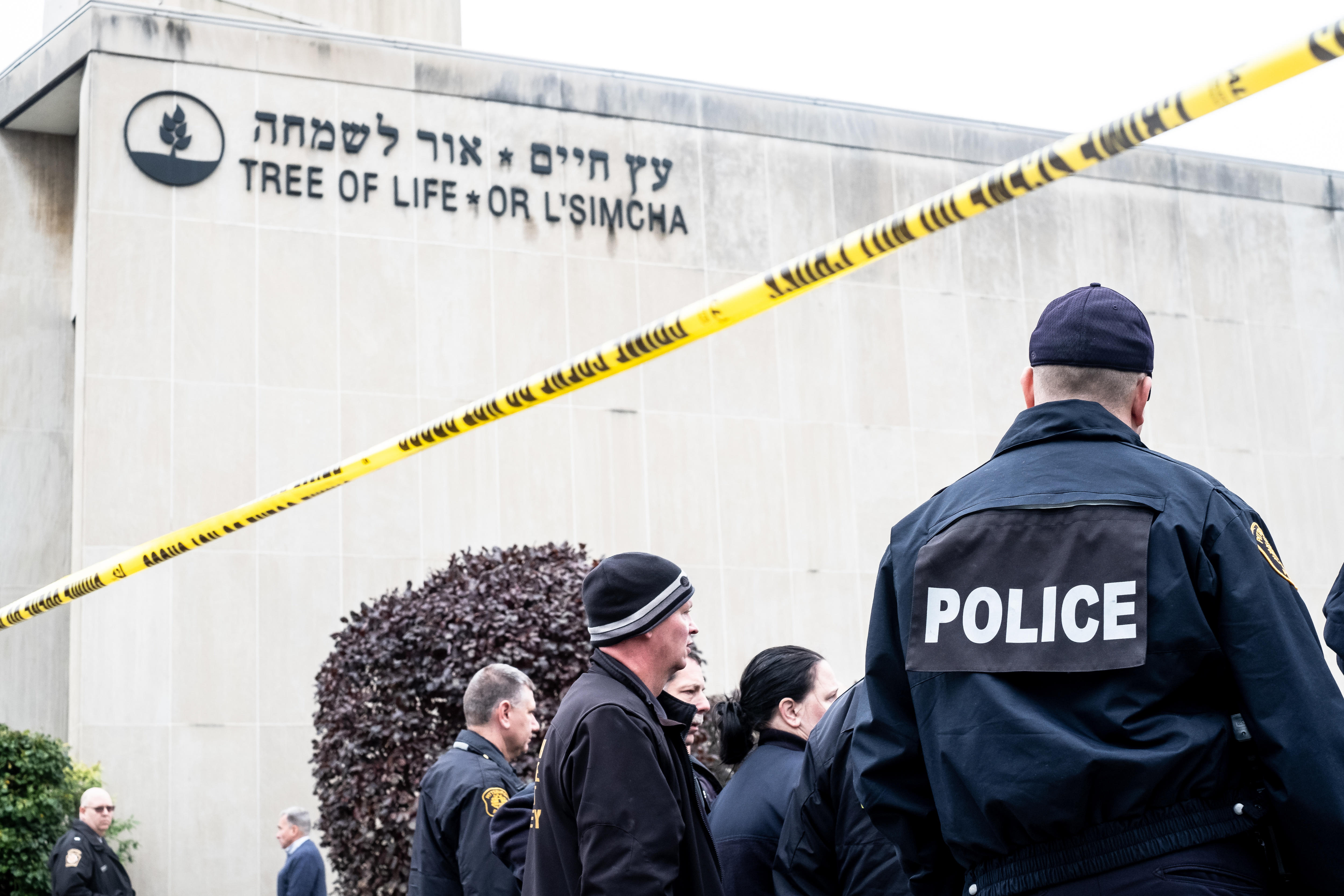 The Tree of Life Synagogue in Pittsburgh.