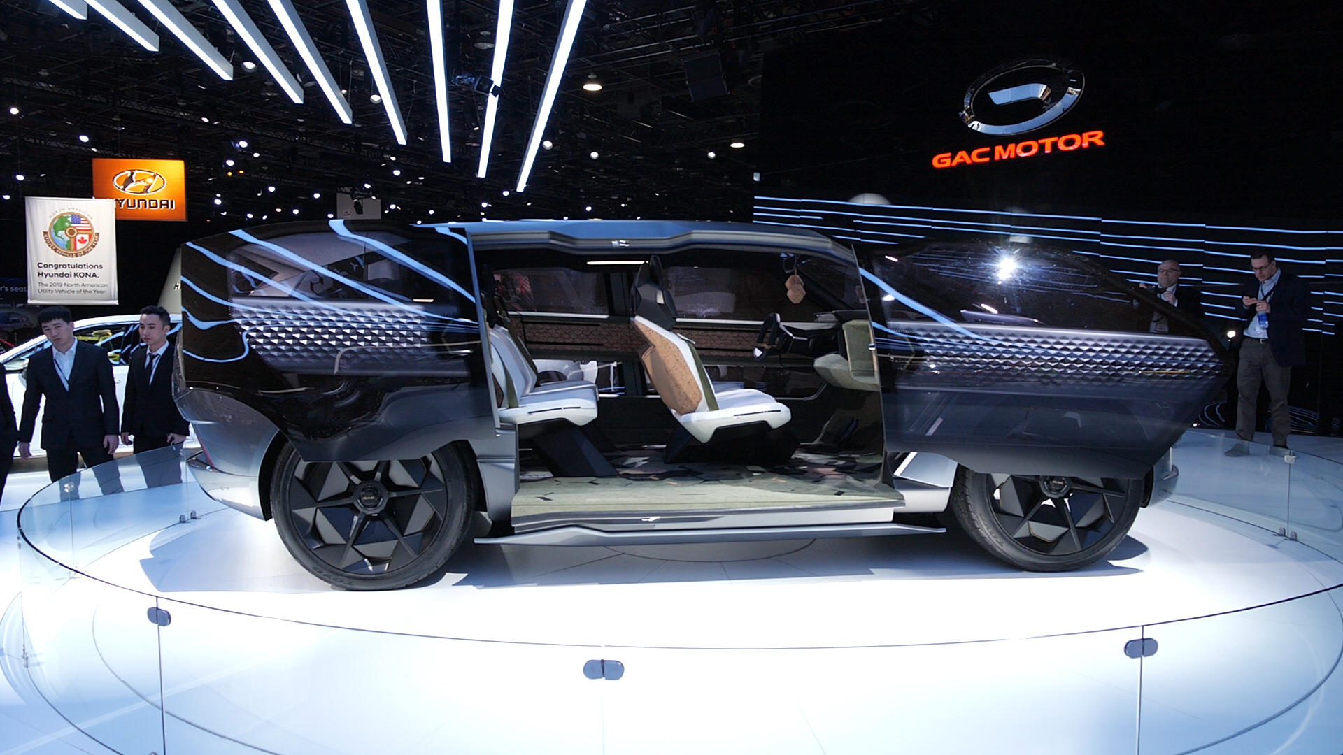 Video: Chinese automaker GAC shows off Entranze concept in Detroit
