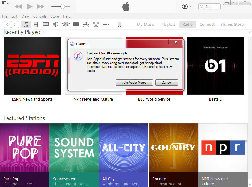 <p>You'll now have to subscribe to Apple Music if you still want to listen to iTunes Radio.</p>