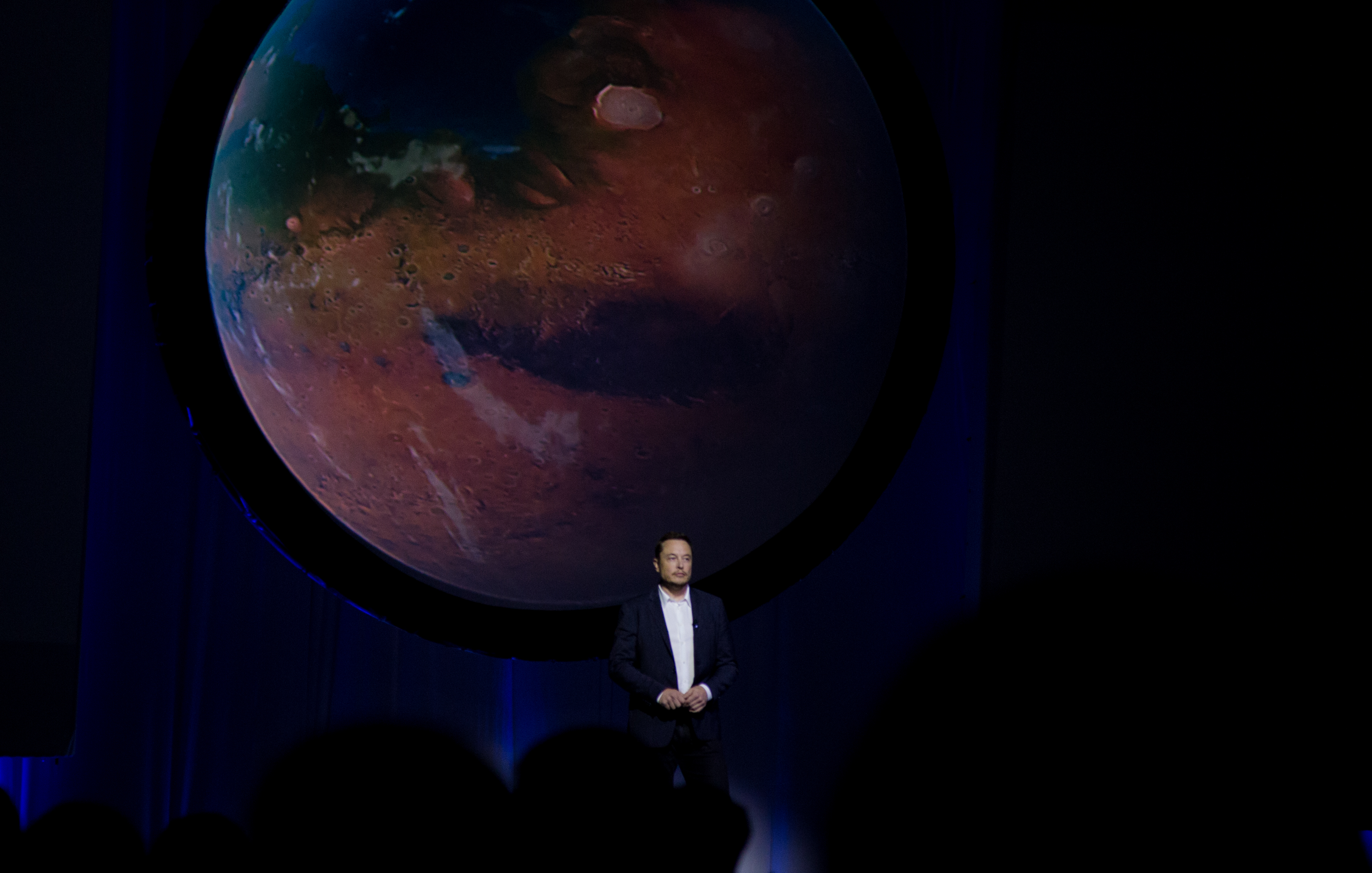 """Musk and """"future Mars"""""""