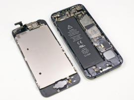 An inside look at the iPhone 5.