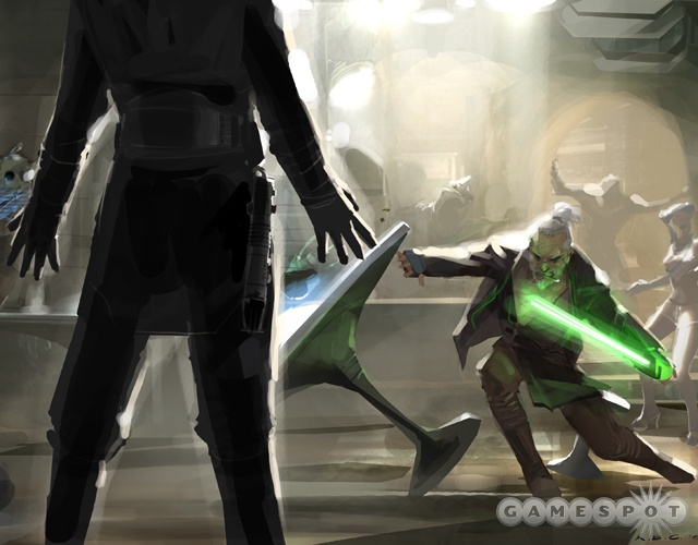 Concept art for the Xbox 360 version of Force Unleashed