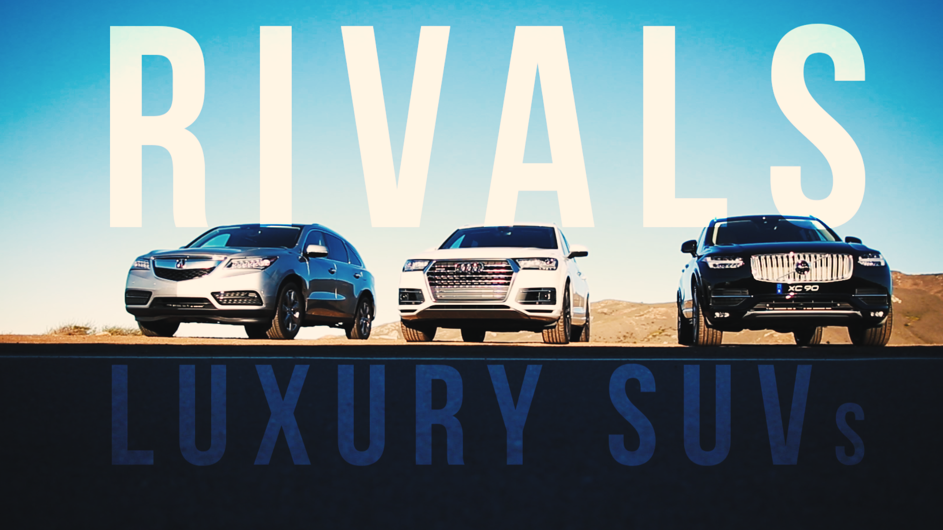 Video: Rivals: Living the high life with three of the richest SUVs