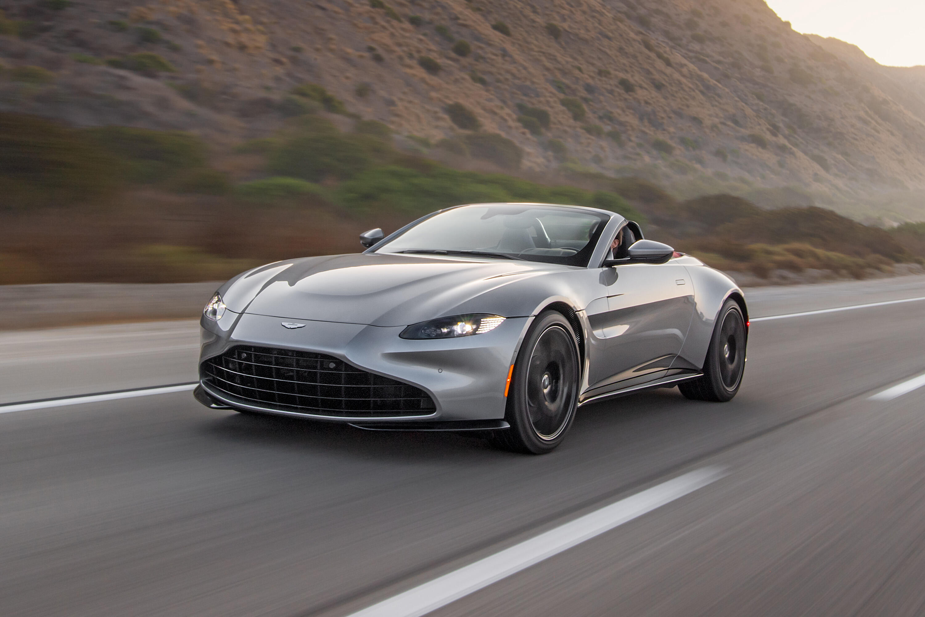 2021 Aston Martin Vantage Roadster First Drive Review New Look Same Thrill Roadshow