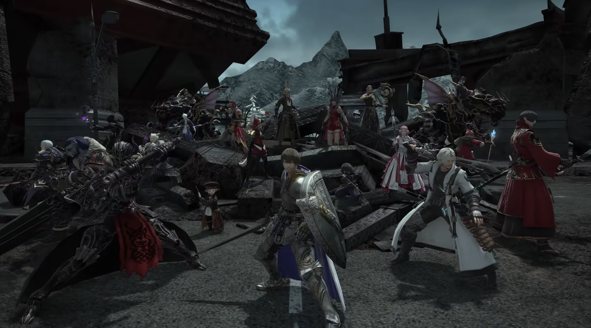 Everyone is jumping on the Final Fantasy 14 train