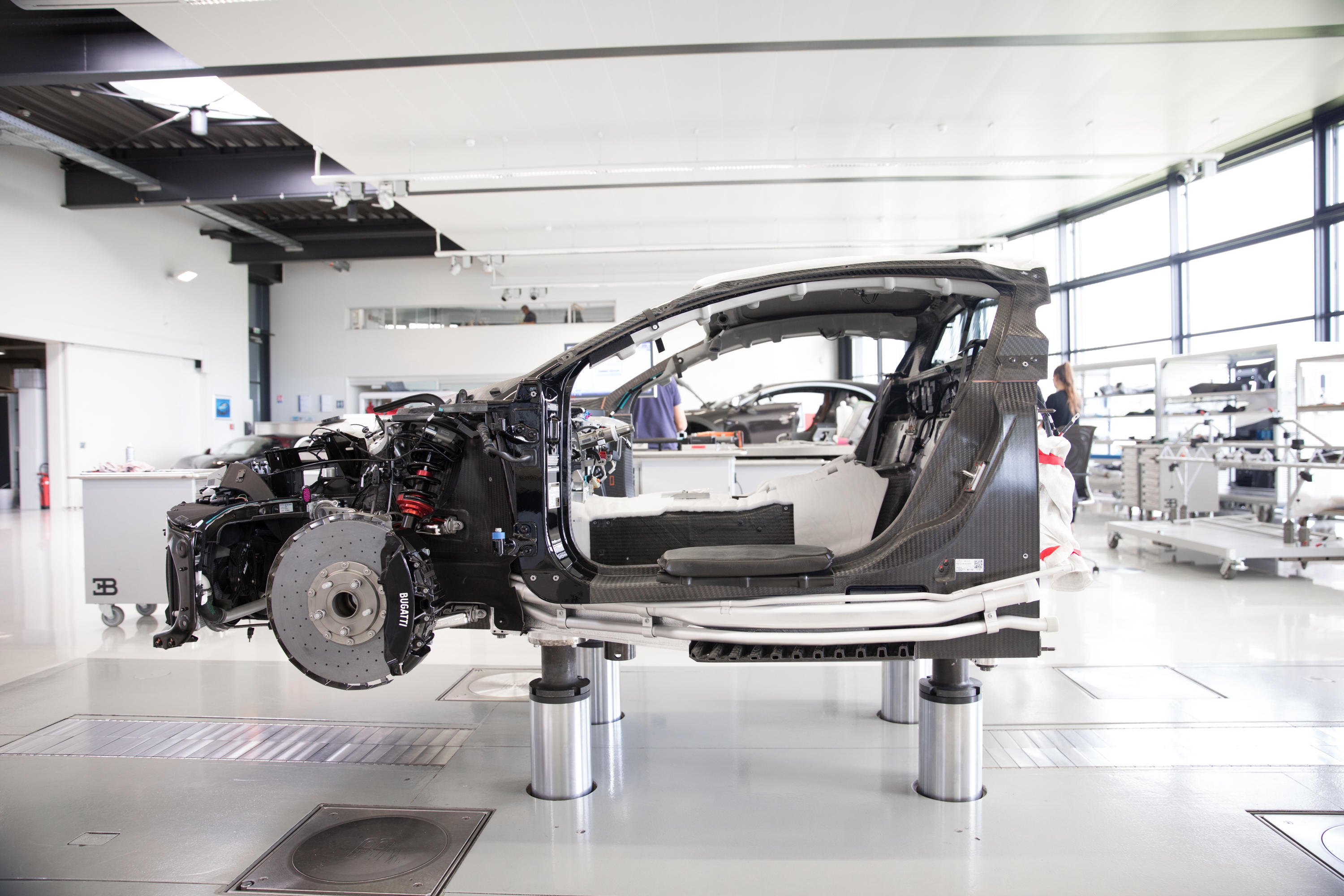 How the Bugatti Chiron is made